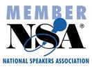 inspirational speaker, National Speakers Association, meeting planners